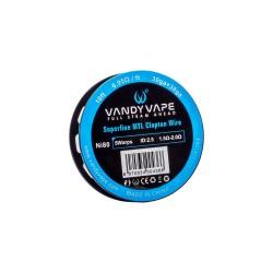 Vandy Vape Superfine MTL Fused Clapton Wire NI80 30ga+38ga