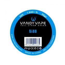 Vandy Vape Pure Nickel Ni80 24GA Wire