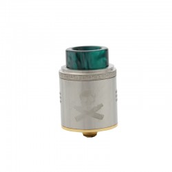 Vandy Vape BONZA RDA Rebuildable Dripping Atomizer with 2ml Capacity and Side Airflow Control-Stainless Steel
