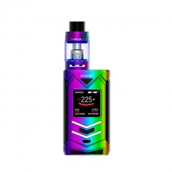 Smok Veneno 225W Kit 5ml TFV8 Big Baby Light Editon Tank with 225W Veneno Mod- Prism rainbow