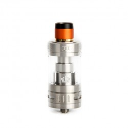 Uwell Crown III Sub Ohm Tank with 5.0ml Liquid Capacity and 24.5mm Diameter-Stainless Steel