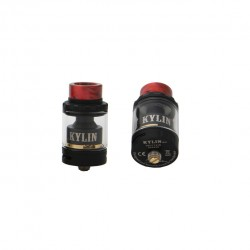 Vandy Vape Kylin Mini RTA Rebuildable Tank Atomizer with 3ml/5ml Capacity-Matte black