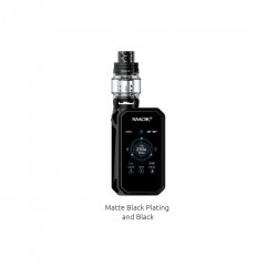 Smok G-Priv 2 Luxe Edition Kit with 230W G-Priv 2 Mod Luxe Edition and TFV12 Prince Tank-Matte black plating and black