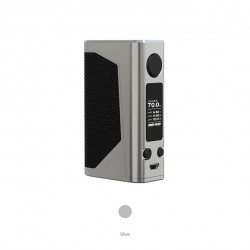 Joyetech eVic Primo 2.0 Upgraded 228W OLED Screen Mod Replaceable Dual 18650 Cells- Silver