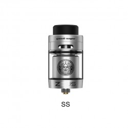Geek Vape Zeus Dual RTA with Top Airflow 4.0ml Capacity-SS