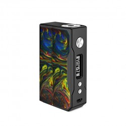 VOOPOO DRAG 157W VW/TC Resin Mod Replaceable for Dual 18650 Batteries- Rainbow