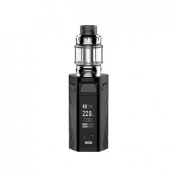 Rincoe Manto X Mesh 228W Kit with Metis Mix Tank - Black