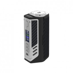 Lost Vape Triade DNA250C 300W Box Mod - Silver Frame & Black Grey Kevlar