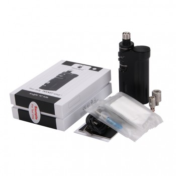 ECT eT 30P Starter Kit eT 30P 2200mah Built-in Battery with 2.5ml Fog Mini Atomizer-White