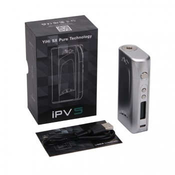 Pioneer4You IPV D3 TC 80W  Box Mod YiHi SX150H Chip Single 18650 Battery Cell-White