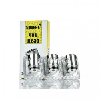 Kanger Dual Coil Replacement Coil VOCC Organic Cotton Coil 5pcs-0.8ohm