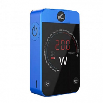 Eleaf   iStick 50W VV/VW Mod Box Kit 4400mah Battery with EU Plug- Red