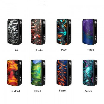Wismec Presa TC 75W Mod OLED Screen VT/VW/Bypass Modes Housing Single 18650 Battery-Black