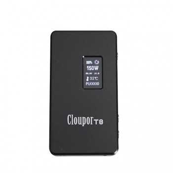 Cloupor T6 100W VV / VW Box Mod - black