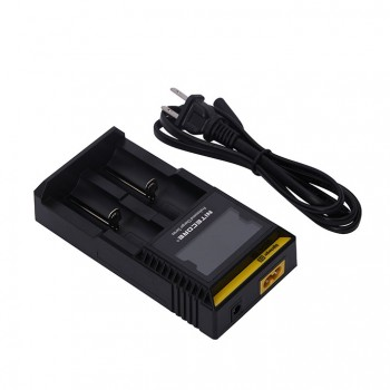 Nitecore D2 Digicharger with 2 Channels for Li-ion Battery - US Plug