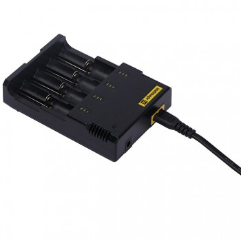 Nitecore New i4 intelligent charger with 4 Channel - UK Plug