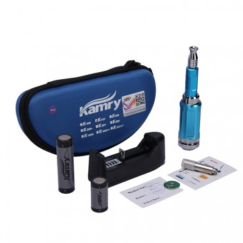 Kamry K100 Mechanical Mod Telescopic Mod 18650/18350 Battery with US Plug- Silver