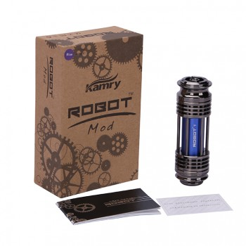 Kamry X6 Starter Kit with X6 1300mah Battery 2.2ml X6 V2 Atomizer US Plug-Oak