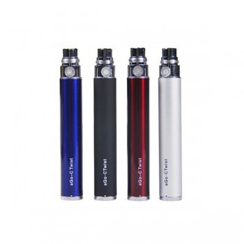eGo - C Twist VV Battery Rechargeable Battery 1100 mah - blue