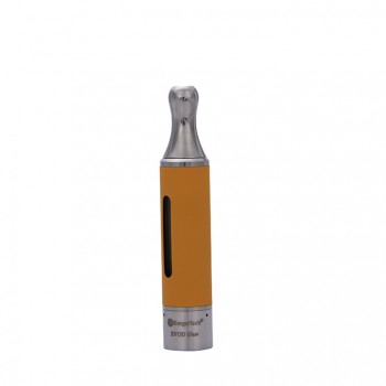 Kangertech EVOD Glass Clearomizer Bottom Dual Coil Clearomizer 1.5ml-Yellow