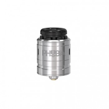 Wotofo Lush RDA Rebuildable Dripping Atomizer Quad Post Adjustable Airflow Control 22mm Diameter-Black+Blue Spot