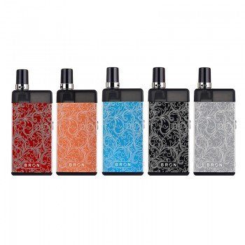 5 colors for CoilART Bron Pod Kit
