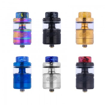 Wotofo Sapor RTA 22mm Dual Top Airflow 2.0ml Liquid Rebuildable Tank Atomizer- Silver