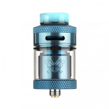 (Newest Version)OBS Crius Rebuildable Tank Atomizer 4.2ml Eliquid Capacity Side Filling with Juice Flow Control-Black
