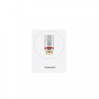 Wismec Replacement Coil Head for Amor Plus Ni200 Temperature Sensing Coil 5pcs-0.15ohm