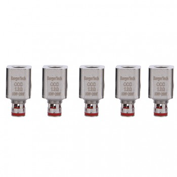 Kanger Single Replacement Coil MT32 SOCC Organic Cotton Coil 5pcs-2.5ohm
