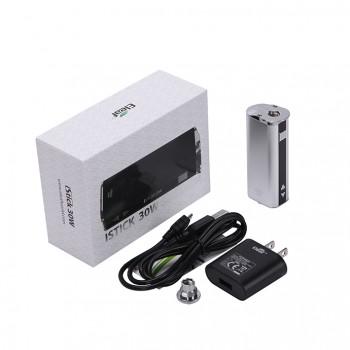 Eleaf   iStick 30W VV/VW Mod Box Kit 2200mah Battery with US Plug- Silver
