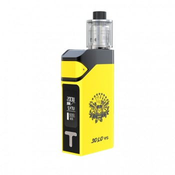 ECT X10 Starter Kit 1600mah X10 40W Battery 2.5ml Fog Mini Atomizer-Black