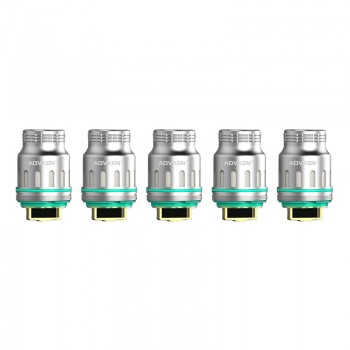 Advken Dark Triple Mesh Coil 0.15ohm 5pcs