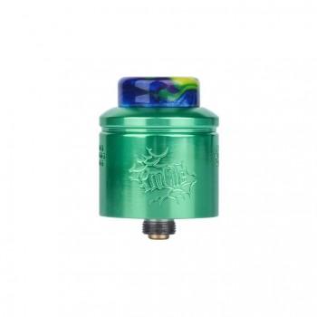 Wotofo Lush RDA Rebuildable Dripping Atomizer Quad Post Adjustable Airflow Control 22mm Diameter-Black + Pink Spot