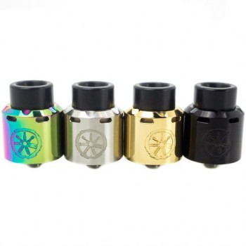 (Newest Version)OBS Crius Rebuildable Tank Atomizer 4.2ml Eliquid Capacity Side Filling with Juice Flow Control-Stainless Steel