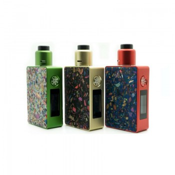 Wotofo Atty3 Cubed RDA Atomizer - Green Red