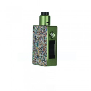 asMODus Spruzza 80W Squonk Kit Mosaic Green White