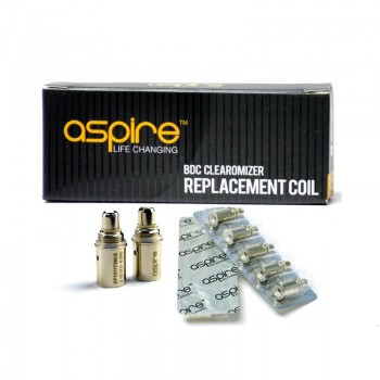 5pcs Aspire BDC Coils 2.1ohm