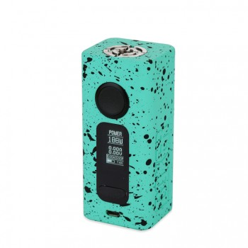 Snow Wolf Mini 75W TC Box Mod Powered by GX75 Chip Supporting Kanthal, Ni200, and Titanium Heating Wires Single 18650 Cell- Black
