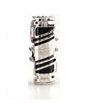 TNT Style Mechanical Mod 18650/26650 Battery Mod - black