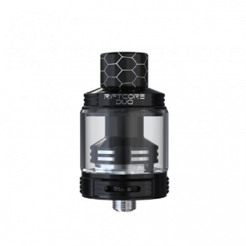 HCigar Fodi RTA&RDA Atomizer 2.5ml Liquid Capability 22mm Diameter Dual Post Adjustable Airflow Control Atomizer-Stainless Steel