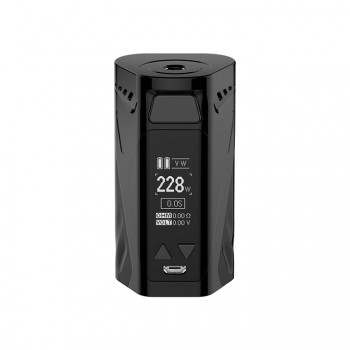 Eleaf iStick 60W Temperature Control Box Mod with OLED Screen Full Kit - Silver Frame