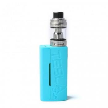 Kanger Topbox Mini(Subox Mini Pro) Kit KBox Mini 75W TC Box Mod with 4.0ml TOPtank Mini Clearomizer Top Filling Spring-loaded 510 Connection-Silver