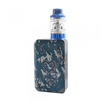 Tesla Poker 218 Kit with Tallica Mini Tank Blue