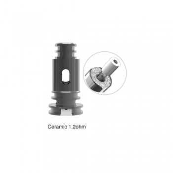 Bohr Flask Ceramic 1.2ohm Coil
