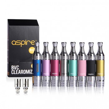 Aspire ET-S Glass BVC Clearomizer Kit with Coils