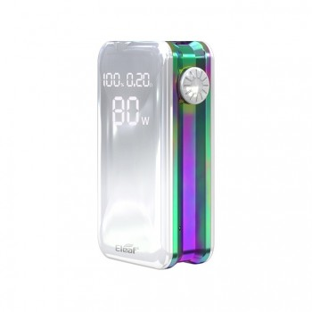 Eleaf iStick Basic 2300mah Mod Battery Simple Packing Magnetic Connector Side Liquid View Window-Red