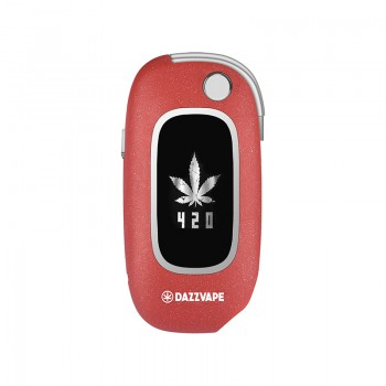 Dazzvape U-Key Vaporizer (Customize Image Design) - Red