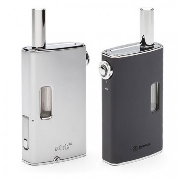 -Joyetech eGrip OLED Starter VW Kit with US Plug 20w 1500mah-Silver