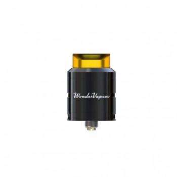 Carbon Fiber Swirlfish RDA Rebuildable Dripping Atomizer Dual Airflow Design 510 Connection-Black